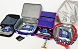 Set of 5 Cooler Shock lunch bag size ice packs