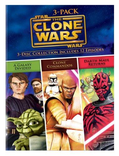 UPC 883929361182, Star Wars The Clone Wars Volumes 3-Pack