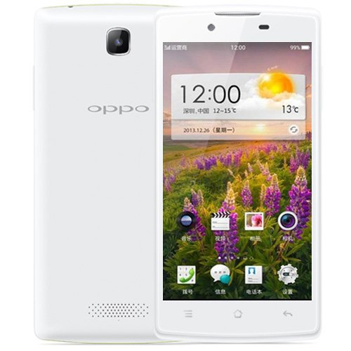 OPPO R831T 4.5 inch Android 4.2 IPS Screen Smart Phone Cortex A7 Dual Core 1.3GHz RAM 512MB ROM 4GB GSM Network Dual SIM (White)