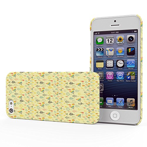 Koveru Back Cover Case for Apple iPhone 5S - Yellow forest