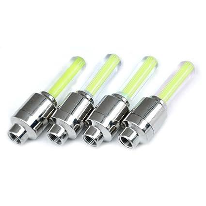 Hemore LED flash luz Válvula de Neumáticos para bicicleta luz lámpara para válvula de iluminación para