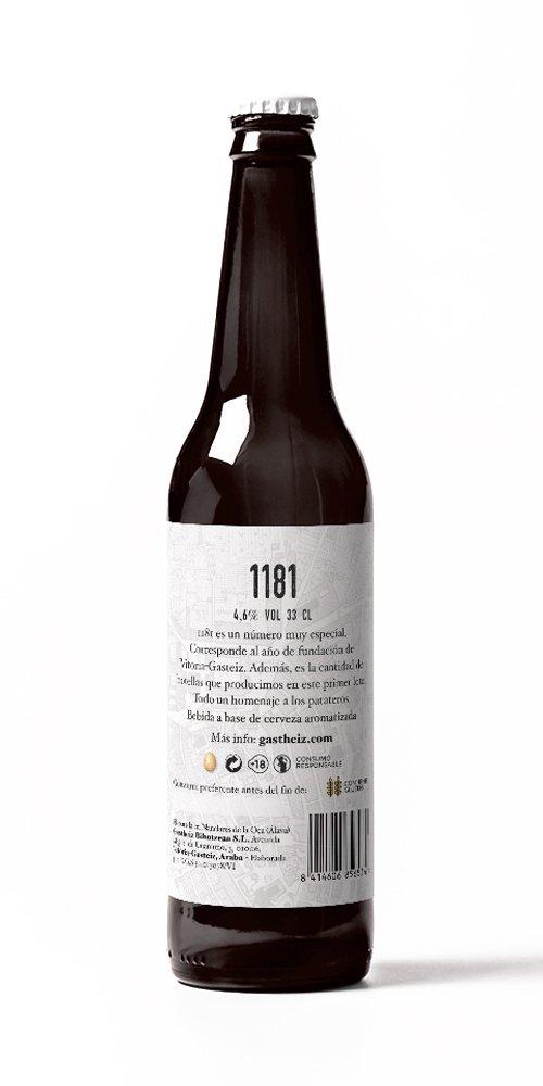 Cerveza de Patata - Gastheiz - Pack de 6 botellas x 330 ml ...