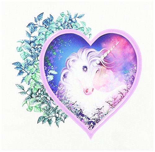 3dRose qs 11688 1 Unicorn Forever 10 Inch