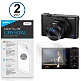 Sony DSC-RX100M3 Screen Protector, BoxWave® [ClearTouch Crystal (2-Pack)] HD Film Skin - Shields From Scratches for Sony DSC-RX100M3