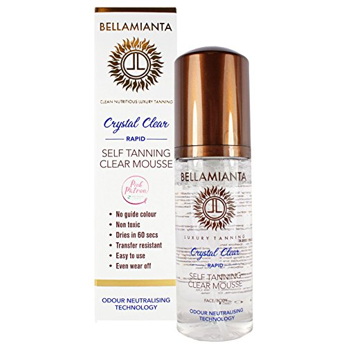 - Bellamianta Crystal Clear Rapid Self Tanning Clear Mousse