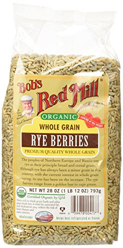 Organic Rye Berries, 28 oz (793 g)