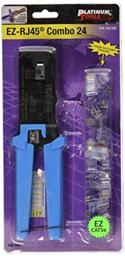 Platinum Tools 100008 EZ-RJ45 Combo - 24. Clamshell.