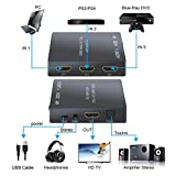 Rhinoco HDMI Converter 3 in 1 Out HDMI Switch with
