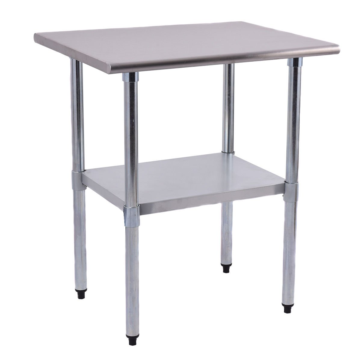 New 24'' x 30'' Stainless Steel Work Prep Table Commercial Kitchen Restaurant