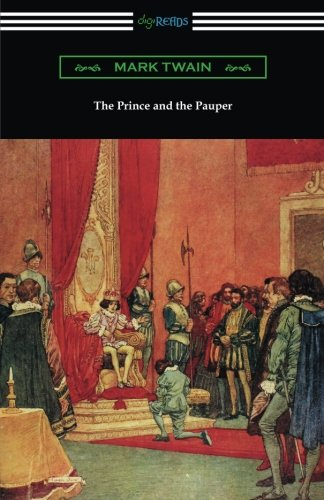 Book cover for The Prince and the Pauper