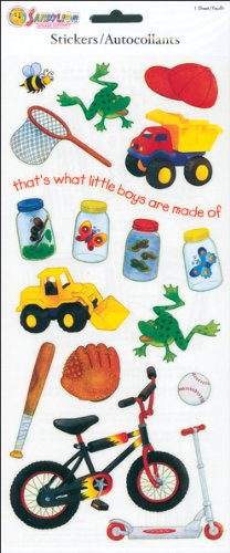 Little Boys Stickers-Toys/Bugs