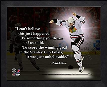 Patrick Kane Chicago Blackhawks Pro citas foto (tamaño: 12 \
