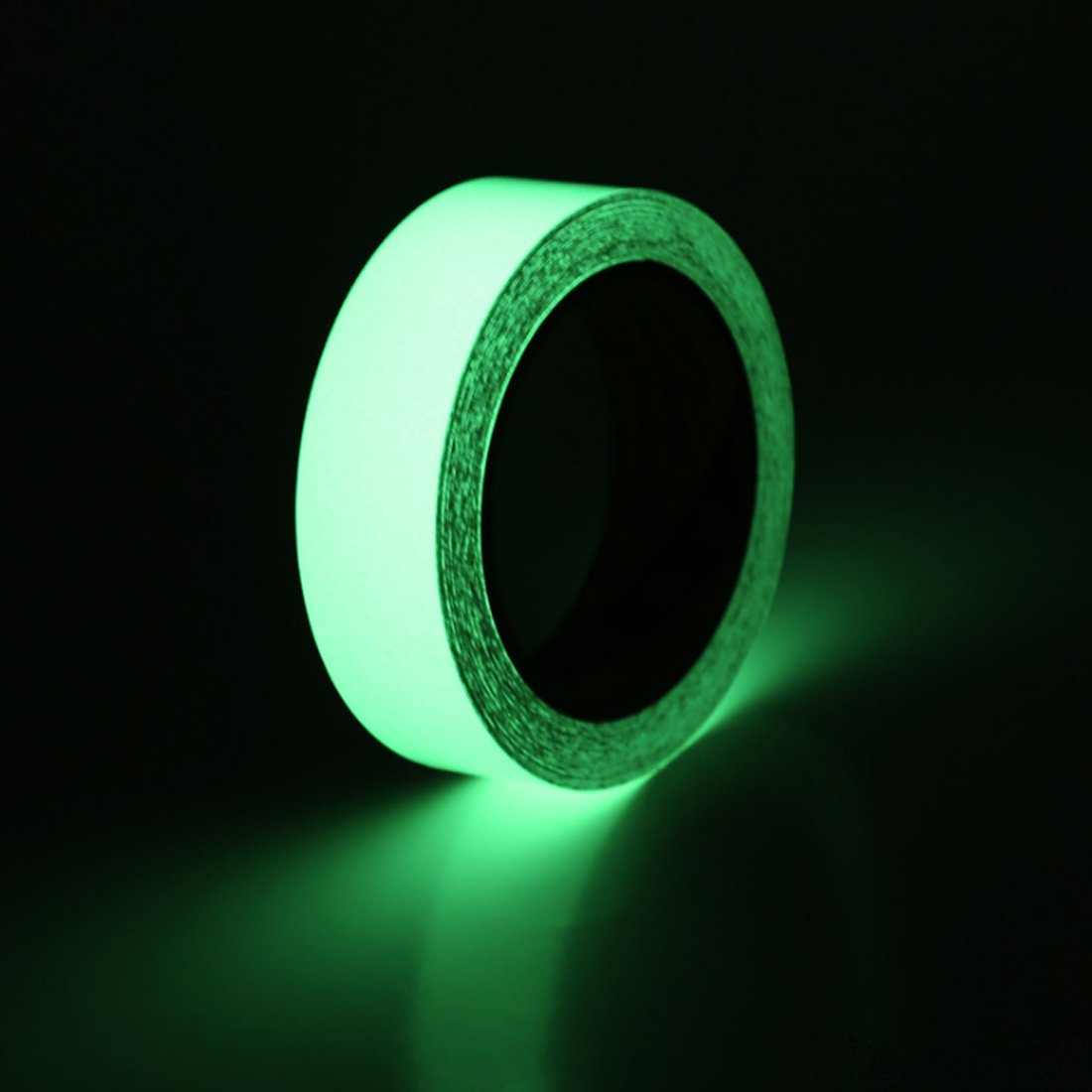 EONBON Glow in The Dark Luminous Tape Sticker 30 Feet x 1 inch, Removable Waterproof Photoluminescent Glow in The Dark Safety Tape, Perfect for Home, Office, Luminous Party - Non-Toxic, Eco-Friendly