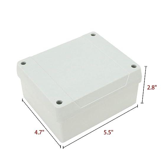 ALCOMPRA Caja de conexiones IP66 a prueba de polvo ...