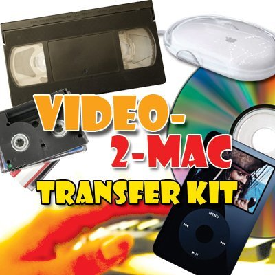 VHS & Camcorder Video Capture Kit. For Mac OSX. Works with El Capitan (10.11), Yosemite (10.10), Mavericks (10.9.5), Mountain Lion (10.8.5), Lion (10.7.5) & Snow Leopard (10.6.8). Includes USB capture hardware, leads & capture software. Links your existin