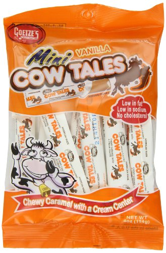 Goetze's Mini Cow Tales, 4 Ounce (Pack of 12) ()