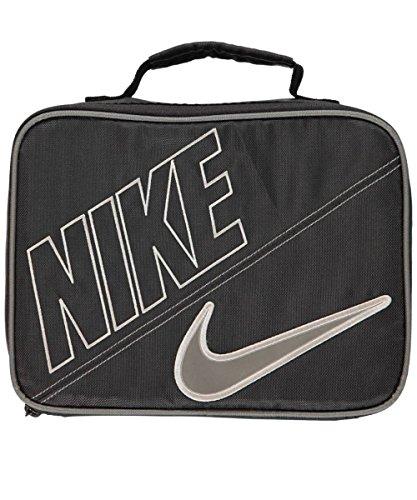 Nike Boys Black Swoosh Insulated Lunch Box (School Lunch Box Boys)