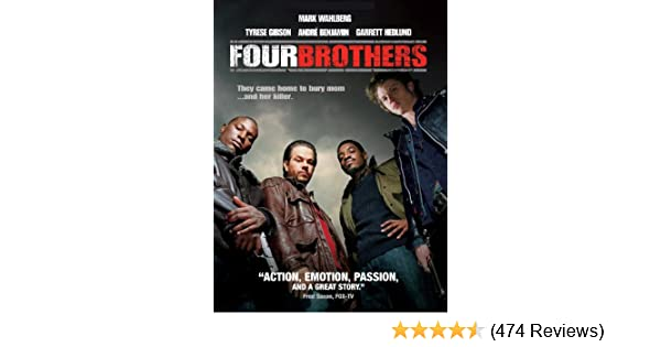 amazon com four brothers mark wahlberg tyrese gibson andr
