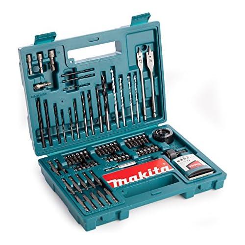 chollos oferta descuentos barato Makita b 53811 Juego de accesorios 100 piezas multicolor