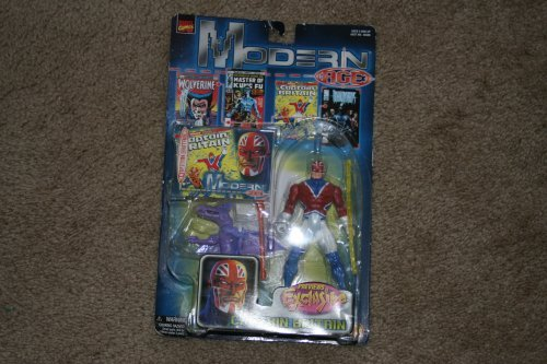 Marvel Comics Toy Biz Modern Age Captian Britian Previews Exclusive