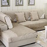 OstepDecor Soft Petris Quilted Sofa Furniture Protector Couch SlipCover For  Pet Dog Children Kids | Backrest