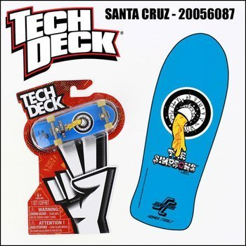 Price comparison product image Tech Deck Fingerboard - Santa Cruz 20056087 - Homer Simpson Series