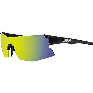 ca59234ebcf Amazon.com  Bliz Active Tempo Small Face Wrap Sunglasses Matt Black ...