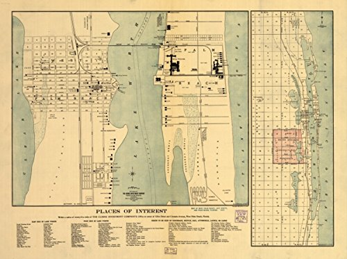Map: 1907 of West Palm Beach, Lake Worth, and Palm Beach, Florida|Florida|Lake Worth|Lake Worth Fla|Palm Beach|Palm Beach Fla|West Palm Beach|West Palm Beach - Beach Buy Lakes Best Palm