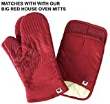 BIG RED HOUSE Oven Mitts, with The Heat Resistance