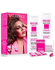 PROCURE TRIO Colour Protect Defense Bundle- 1 Shampoo for Color Treated Hair & 1 Conditioner for Colored Hair 10oz 1 box of Color Care Hair Oil Capsules (3 items) For Coloured, Normal, Dry, Dull Hair