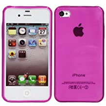 "Fosmon ""Semi-Flex"" TPU Case for iPhone 4 / 4S - (Purple)"