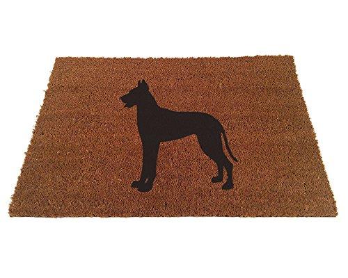 - Great Dane Silhouette Doormat (24