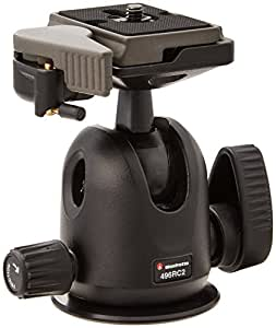 Manfrotto 496RC2 Ball Head with Quick Release Replaces Manfrotto 486RC2 (Black)