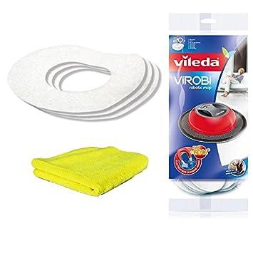 Vileda Virobi Slim de repuesto staubpads: Amazon.es: Salud y cuidado personal