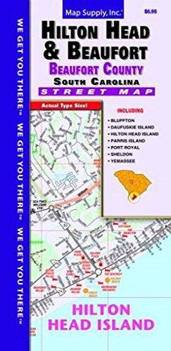 hilton-head-beaufort-county-sc-fold-map