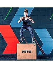 METIS 3-i-1 plyobox för plyometrisk träning – Hoppstyrka | Träningsredskap för inomhusbruk | Trälåda för hoppträning | Tre ställbara höjder: 51 cm, 61 cm och 76 cm