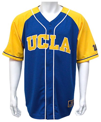big sale c1c04 c2b9d Amazon.com : UCLA Grand Slam Men's Baseball Jersey, Light ...