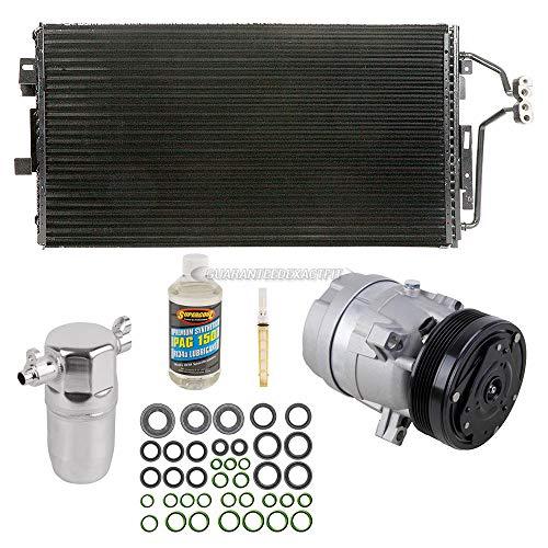 A/C Kit w/AC Compressor Condenser Drier For Buick LeSabre Pontiac Bonneville - BuyAutoParts 60-89146CK New