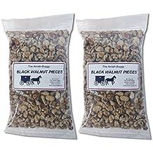 Amish Black Walnut Pieces - Two-14 Oz. Bags