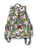 Victoria's Secret PINK Wild Tropical Floral Large Backpack Travel Book BagRARE