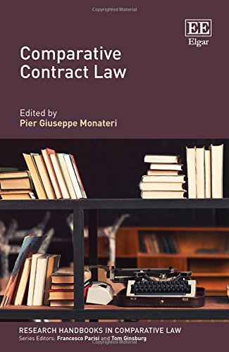 Comparative Contract Law (Research Handbooks in Comparative Law series) by Edward Elgar Pub