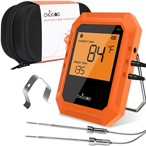 Thermometer Bluetooth Grilling Carrying Included