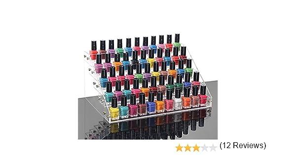 ,Six Layers Color, Two Layers qingtianlove Estanter/ía de Almacenamiento Organizador de Esmalte de u/ñas de m/últiples Capas L/ápiz Labial Cosm/éticos Display Rack Holder Organizador de Maquillaje