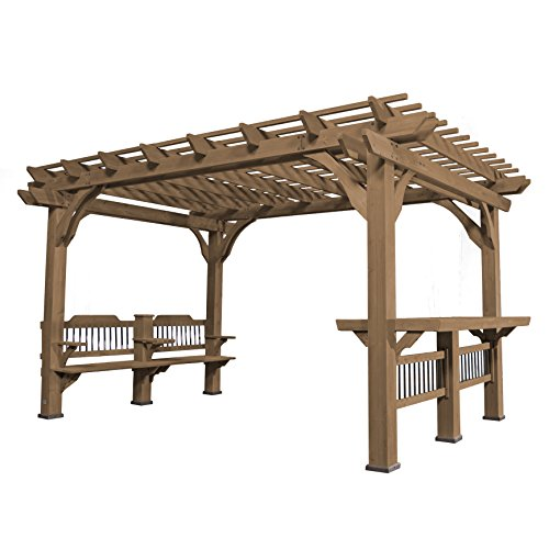 Backyard Discovery Oasis 14 Ft. W x 10 Ft. D Pergola