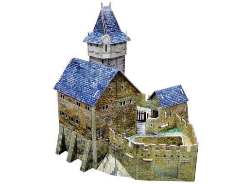 Clever Paper Hunting Castle with -