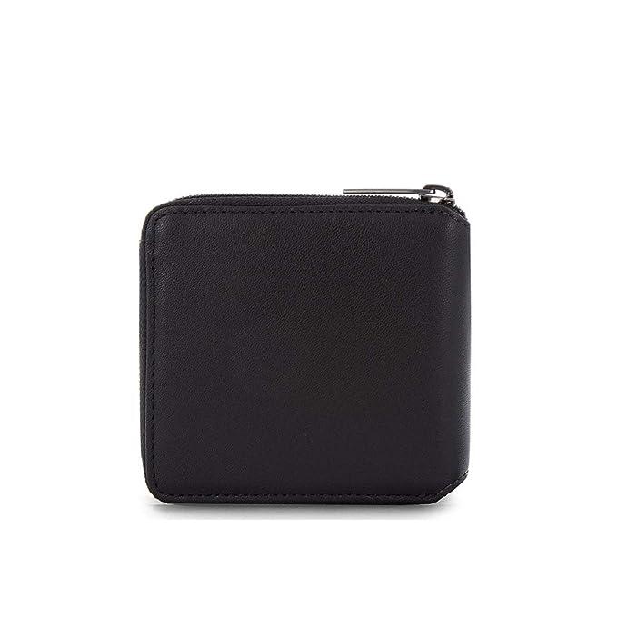 Portafoglio Uomo Smooth Emboss | Calvin Klein Jeans | K50K503996-Black/Navy/Rose: Amazon.es: Equipaje