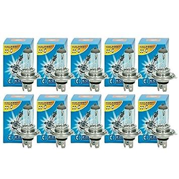 H4 Autolampe 12V 60//55W Lampe Scheinwerferlampe Glühlampe Halogen 10 Stk