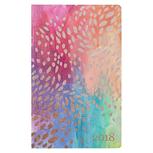 Erin Condren 2018 Hardbound LifePlanner- Painted Petals, (8 Week Satin)
