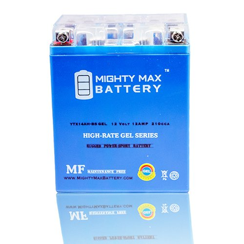 Mighty Max Battery YTX14AH Sportsman