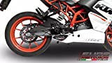 gpr exhaust system - KTM RC 390 2015-2016 GPR Exhaust Systems Deeptone Ghost Steel Silencer Road Legal